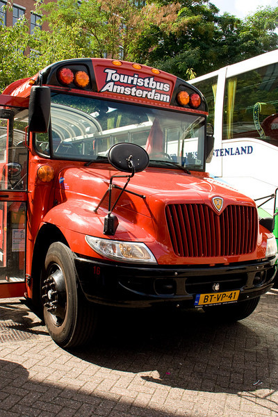Bus for our bus tour around the city.