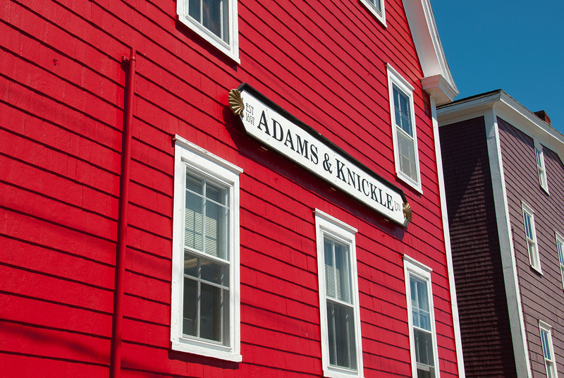 Adams & Knickle in Lunenburg, Nova Scotia