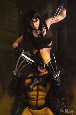 Wolverine Vs X-23 - Mark & Smidgen