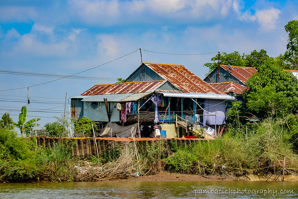 Along The Mekong Delta