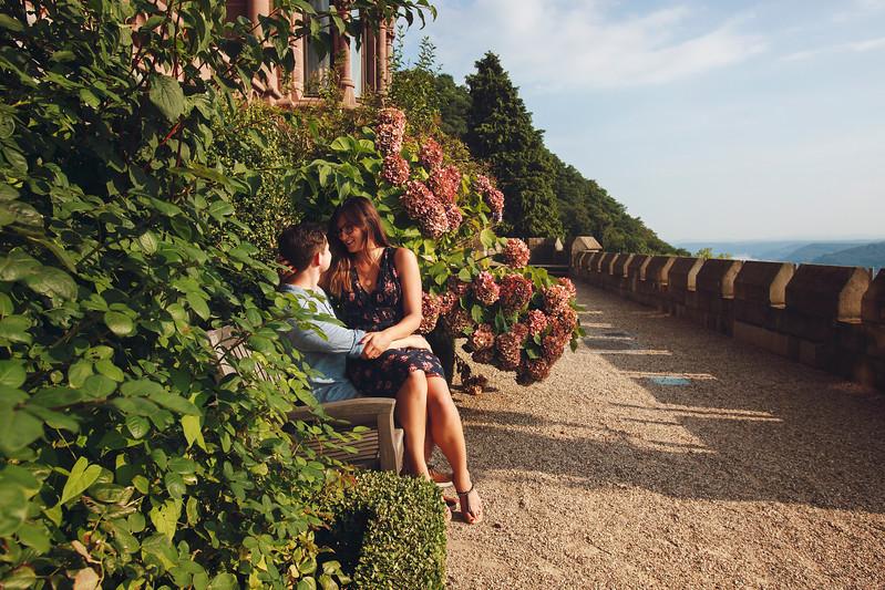 Vitali & Veronika. Schloss Drachenburg, Germany, 2017.