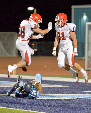 Downers Grove South football hosted Hinsdale Central Friday night.