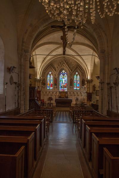Menneval, Eglsie Saint-Pierre Choir