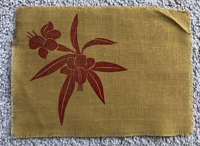 Mid Century Silk Screen
