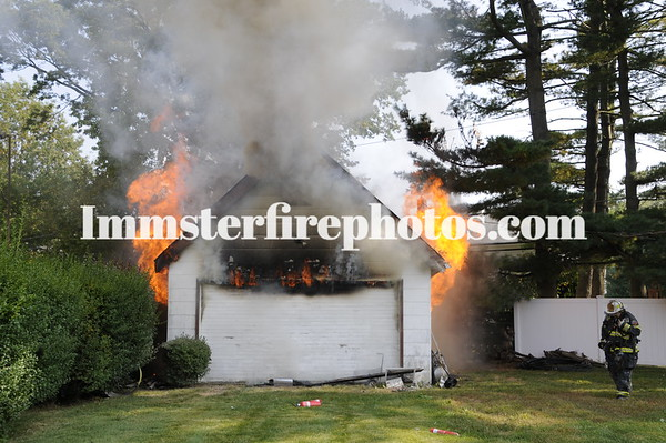 SYOSSET FD GARAGE FIRE