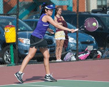 Chantilly Chargers Girls Tennis v Oakton, Monday, April 8, 2013