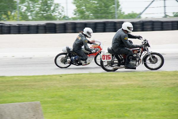 Road America AHRMA Vintage Motorcycle Racing Rockerbox 2017