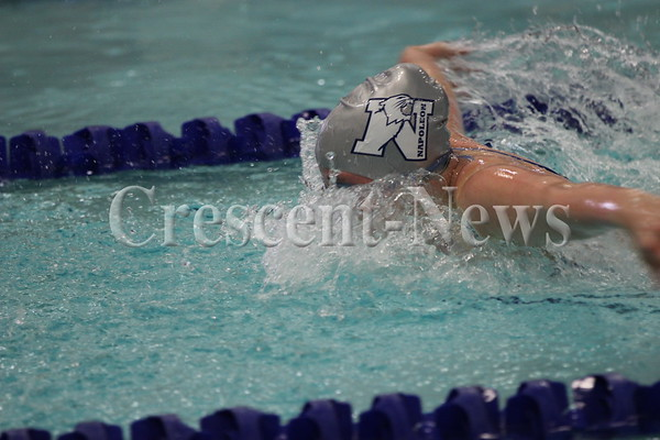 02-08-14 SPORTS Sectional Swimming at Napoleon