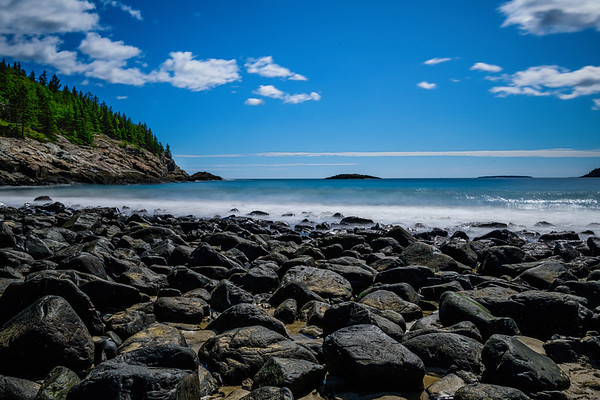 Sand Beach - Acadia National Park - Maine - 2019