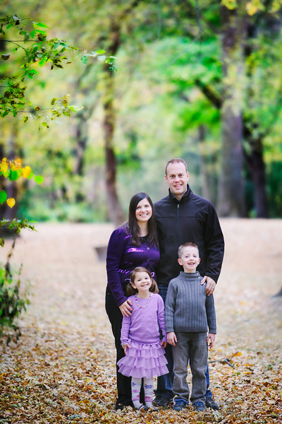 The Durbin Family Fall 2012