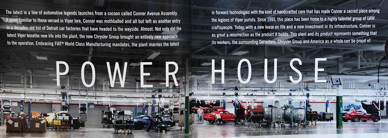2013 Dodge/SRT Viper brochure