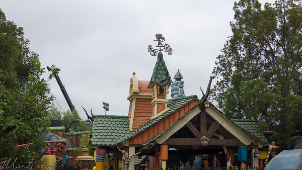 Disneyland Resort, Disneyland, Mickey, ToonTown, Toon, Town, Star Wars Land, Construction