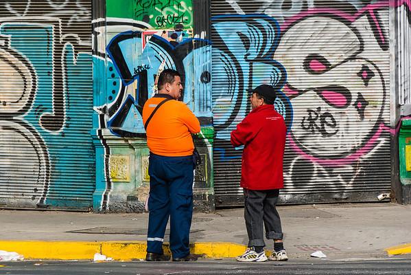 2014 Santiago, Chile Street Art