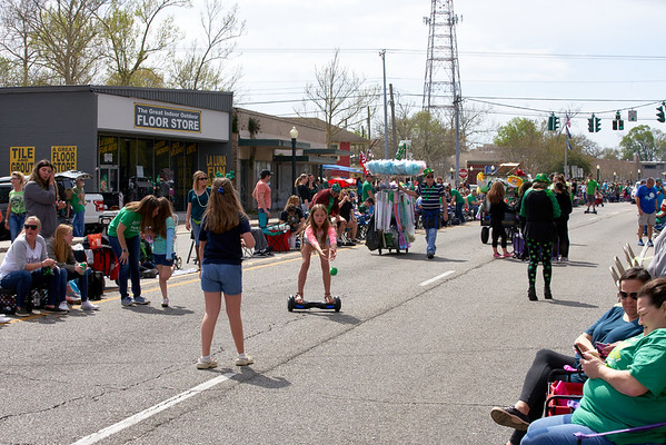 St. Patrick's Day Parade March, 8, 2020