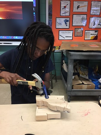 3rd Grade - Woodworking NatureScapes