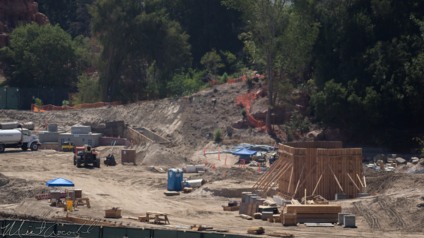Disneyland Resort, Disneyland, Mickey, Friends, Parking, Structure, Star Wars Land, Star, Wars, Land, River, Rivers, America, Frontierland, Critter Country, Construction