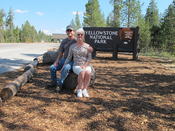Road trip Teton's to Yellowstone