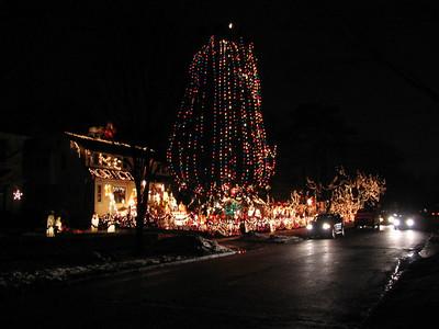 House Lights at Christmas