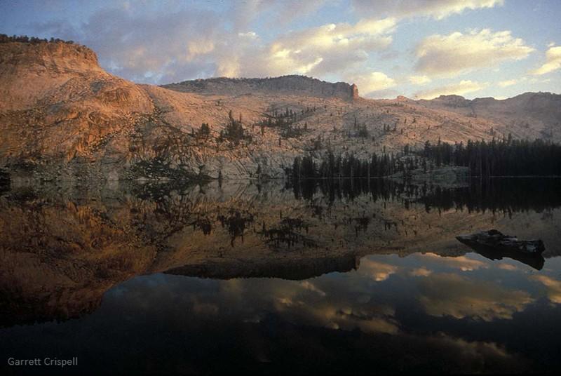 Yosemite Backcountry: May Lake Sunrise