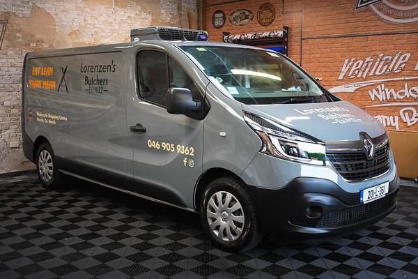 Lorenzen's Butchers Renault Trafic