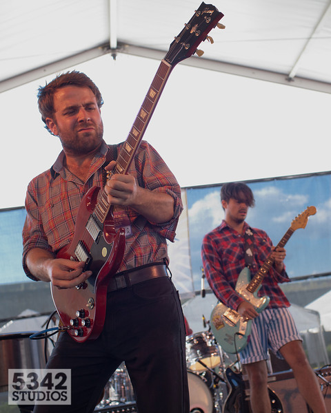 Taylor Goldsmith and Matthew Vasquez with Middle Brother
