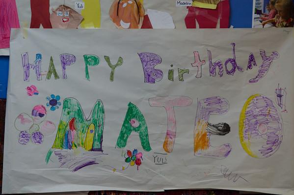 Mateo's birthday party at TCC