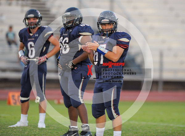 Football Fall 2017 McClintock vs Tempe JV