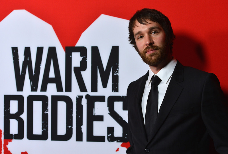 ". Author Isaac Marion arrives at the premiere of Summit Entertainment\'s ""Warm Bodies\"" at ArcLight Cinemas Cinerama Dome on January 29, 2013 in Hollywood, California.  (Photo by Frazer Harrison/Getty Images)"