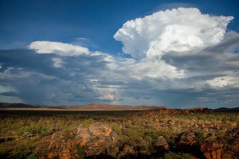 Storm clouds building over the Kimberleys (Storm Chasing in Northern Australia for BBC Wonders of The Monsoon.)