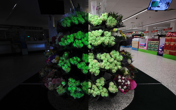 26/10/20 - Asda Launches Glow in the Dark Roses for Halloween