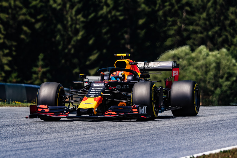 #10 Pierre GASLY (FRA, Red Bull Racing, RB15)