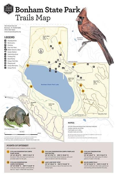 Bonham State Park (Trails)