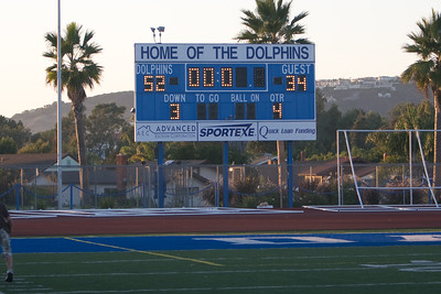 DH Soph Oct 16th, 2008 vs. San Clemente