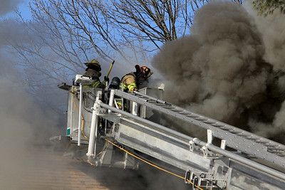 2 Alarm Structure Fire - Old Worcester Rd - Oxford Ma 02/14/18