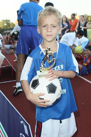 BROOKLYN - AUGUST 19: Brooklyn Italians Soccer Academy Trophy Day at John Dewey High School on August 19, 2010 in Brooklyn, NY.