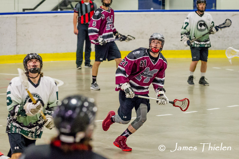 Game, June 25, 2017, Calgary Mountaineers vs Okotoks Marauders