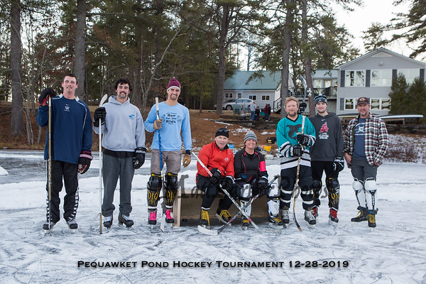 2019-12-28 Ted and Brenda's Pond Hockey Tournament