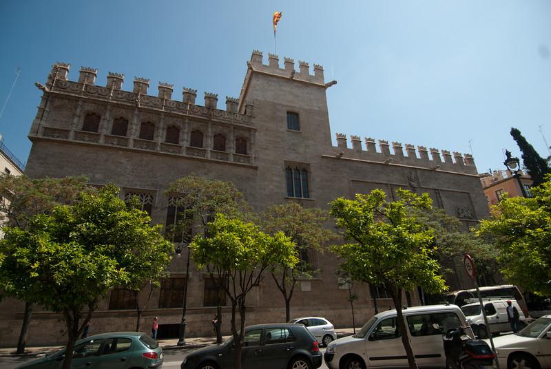 Llotja de la Seda in Valencia, Spain