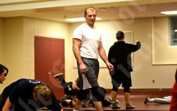 11/25/2015 Ellsworth wrestling practice