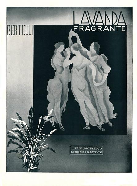 1940 BERTELLI Lavanda Fragrante: Italy