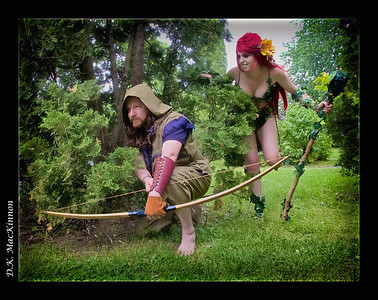 Poison Ivy and the Woodsman