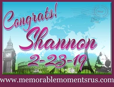 Shannon's Retirement Party