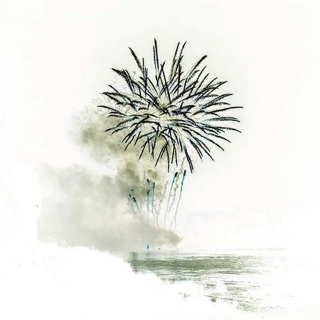 Feu d'artifice - 14 juillet 2012
