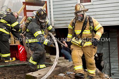 Mount Pleasant St. Fire (Derby, CT) 3/15/14