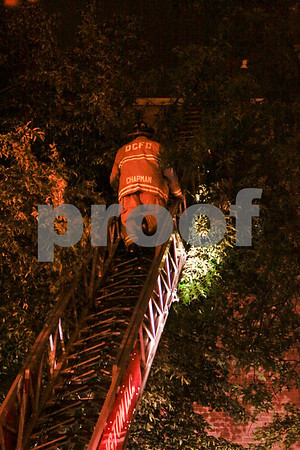Rome Hall Roof Fire 05/10