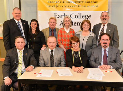 Early College Academy Signing, March 2014