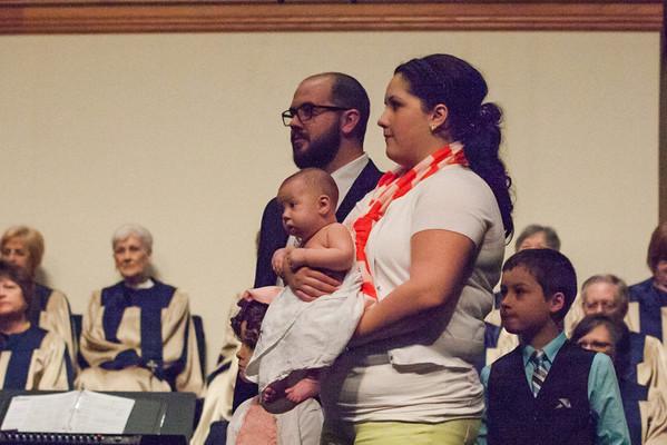 2013 03 10 Dashiel McLaughlin Baby Dedication