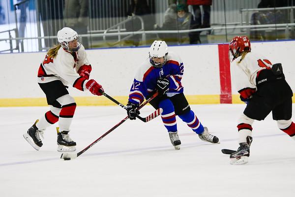 Girls' JV Hockey vs. St. Paul's   January 18