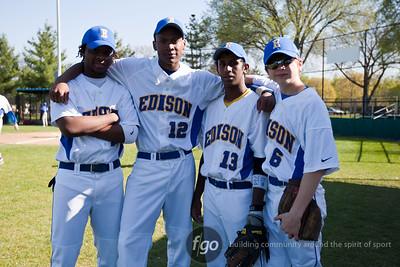 Minneapolis North v Edison Baseball 4-11-12