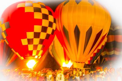 hot air ballons